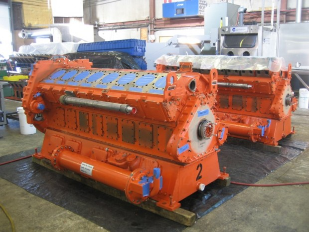 -VGF P48 GLD x 2 engines: Overhauled and shipped to Wastewater Treatment Facility in San Bernardino California